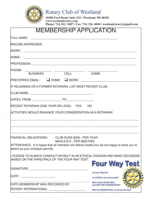 Rotary Club of Westland